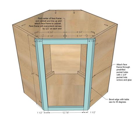 How To Build A Corner Cabinet With Doors - white build a wall kitchen corner cabinet free and