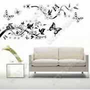 Wall Stickers Decoration Artistic Flowers Trees Wall Stickers Wall Decals Vinyl Art Decal Decoration