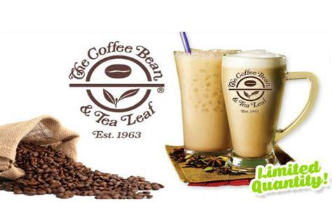 02301 Coffee Bean And Tea Leaf Promo Code by The Coffee Bean Tea Leaf 40 Set Of 5 Cafe Latte