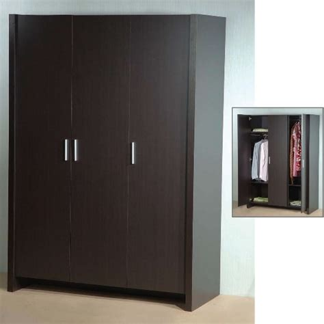 Latest Designs Of Wardrobes In Bedroom by Dano 3 Door Wardrobe In Expresso Brown 5074 Furniture In Fas