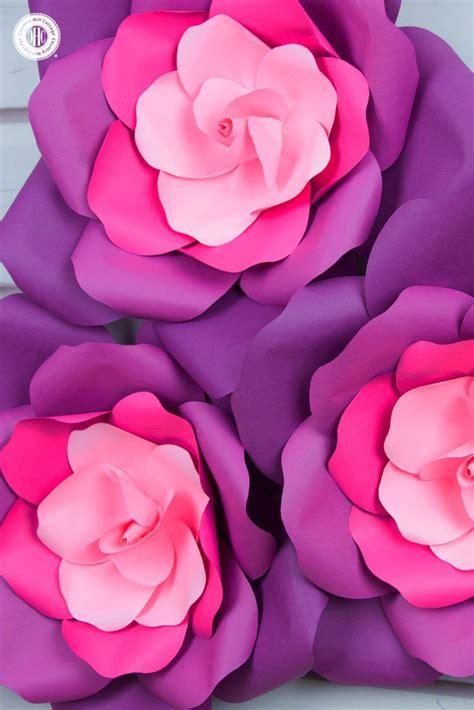 learn   giant paper roses   easy steps