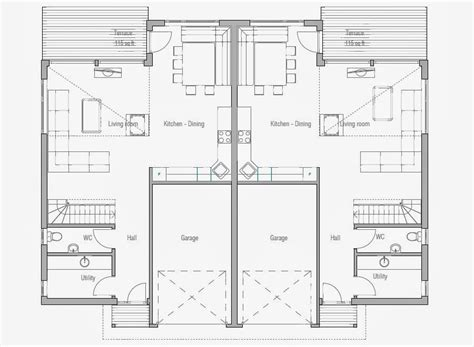house plans economical to build photo gallery affordable home plans economical duplex home plan ch158d