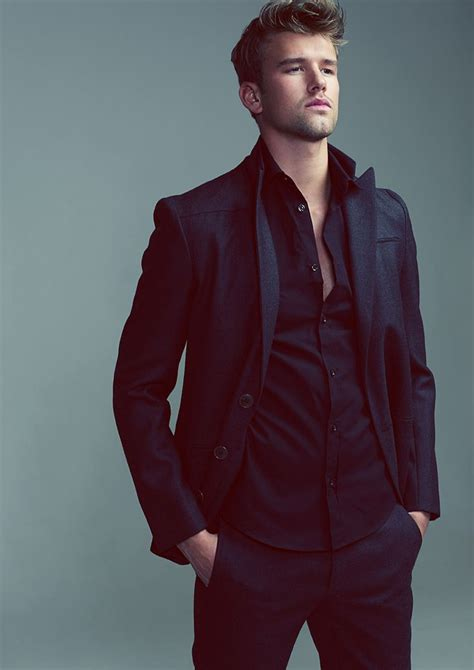 Simple masculine style | EveryGuyed Style Preview | Pinterest | Black On Black Suit Black Suits ...