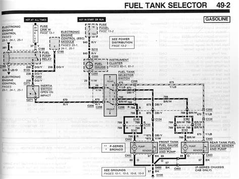 95 F150 Fuel Tank Diagram by Diagram 1999 Ford F150 Fusible Link Diagram Version