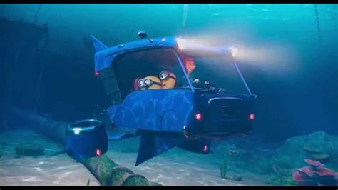 minions cars lucie wilde s car underwater