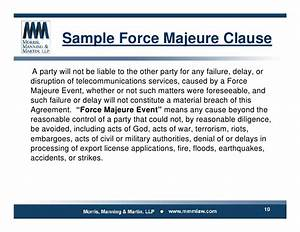 Force majeure clause template image collections template for Photo templates from stopdesign image info