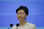 林鄭月娥民望暴跌!評分僅32.8 創歷任香港特首新低 - 國際 - 自由時報電子報