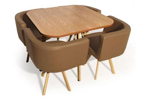 table de cuisine avec chaise encastrable table a manger avec chaise encastrable pas cher 28
