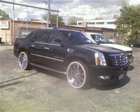 chitownsillest  cadillac escalade ext specs