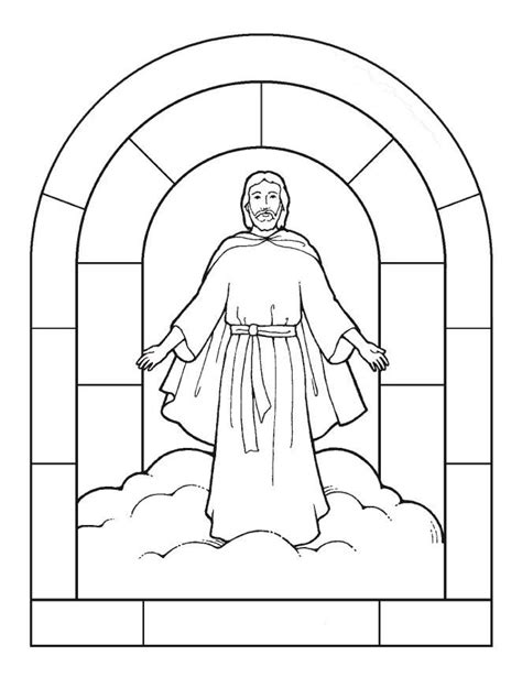 parts  catholic mass coloring page coloring pages