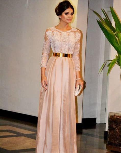 model dress brokat modern  elegan ragam fashion