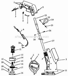 Weed Eater 409 9 Parts List And Diagram