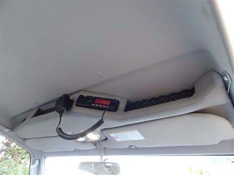 ontrack automotive roof console holds primary cb  pro