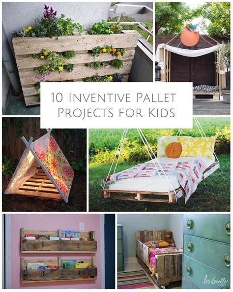 inventive pallet projects  kids diy pallet