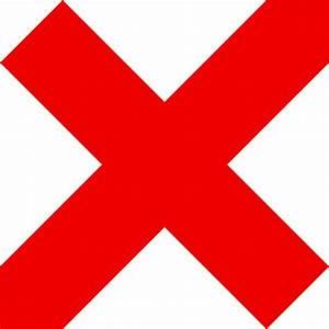 Red Tick Mark Symbols