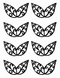 filigree templates clipart best With chocolate lace template