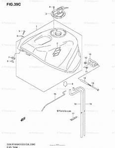 Suzuki Motorcycle 2003 Oem Parts Diagram For Fuel Tank