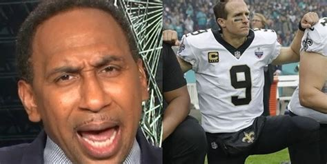 "Stephen A. Smith to Drew Brees: ""I am shocked ..."