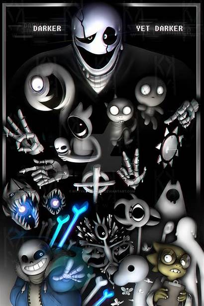 Undertale Entry Number Gaster Wallpapers Android Phone