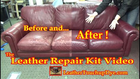 Leather Reconditioning by Leather Repair Kit