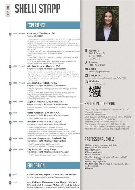 flight attendant resume template  resume format