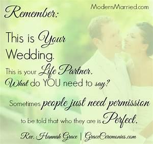 Marriage Vows T... Wedding Spiritual Quotes