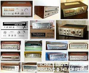 Technics Service Manuals Repair Manual Audio Hifi