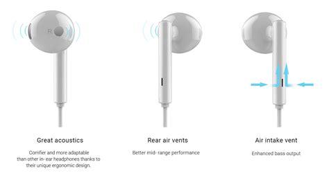 huawei honor  earphone headphone  remote mic
