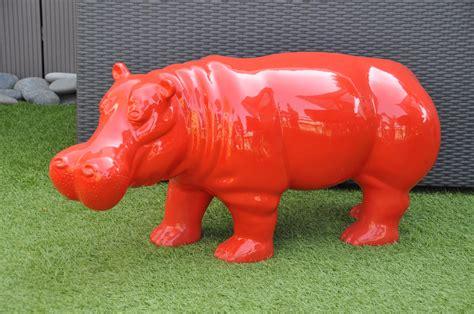 canape d angle exterieur hippopotame en résine pour décoration extérieure