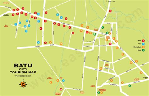 batu city map peta kota batu batu tourism map peta