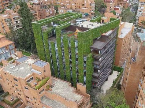 Largest Vertical Garden by Bogota S Edificio Santalaia Among World S Largest Vertical