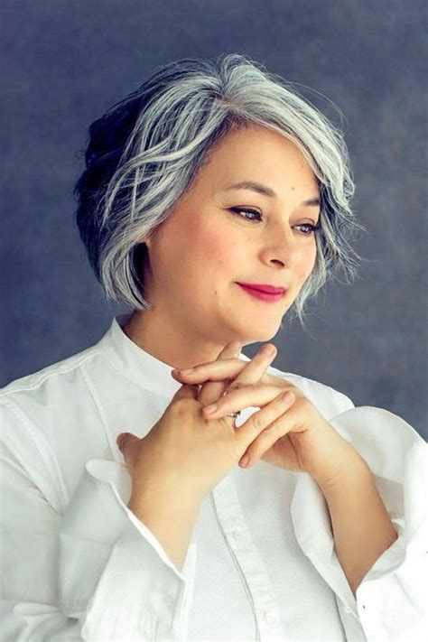 silver hair styles salt and pepper hairstyles for hairstyles 9761