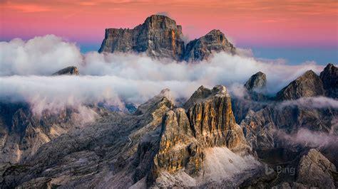 lagazuoi mountain  cortina italy  bing desktop