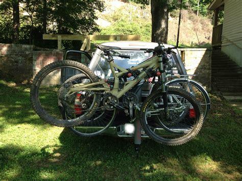 yakima 4 bike rack yakima doubledown ace 4 bike rack review singletracks