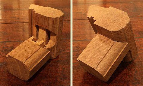 oak furniture construction mortise  tenon joint