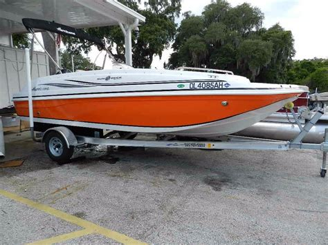 Hurricane Boats For Sale Florida by 2015 Used Hurricane Ss 188 Deck Boat For Sale Leesburg