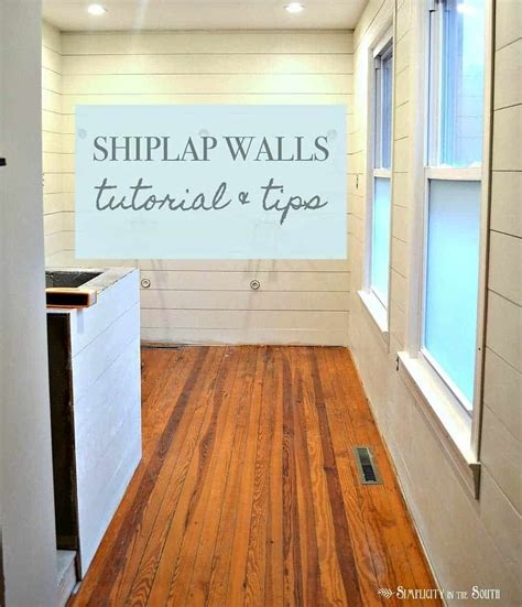 tutorial  tips   shiplap walls   bathroom