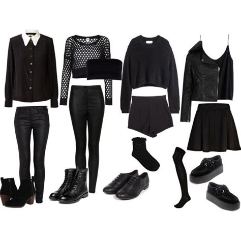 Best 25+ All black outfits tumblr ideas on Pinterest | Womens converse outfit All black ...