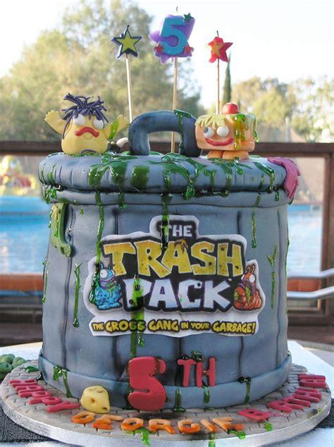 trash pack cake   sonja  yellow sugar cupcakes