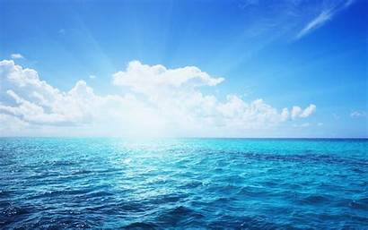 Sea Wallpapers Ocean Sky Water Anime