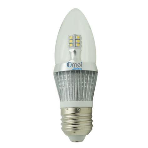 e26 led bulb dimmable candelabra bulbs 5w 50 watt daylight