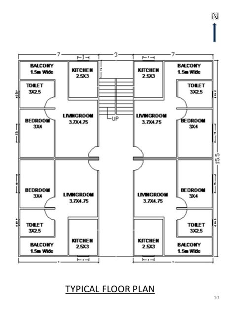storey residential building floor plan zion star