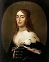 Gerrit Van Honthorst - Portrait of Elizabeth, Queen of ...