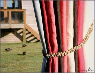 tutoriel macrame couture lin