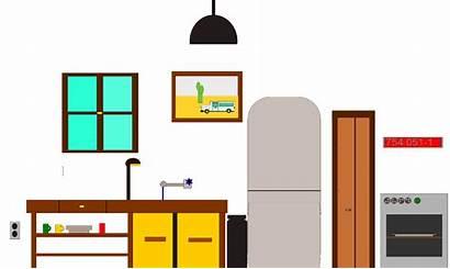 Kitchen Clipart Clip Cliparts Table Designs Svg