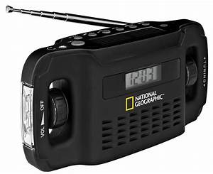 National Geographic Solar Radio   Charger