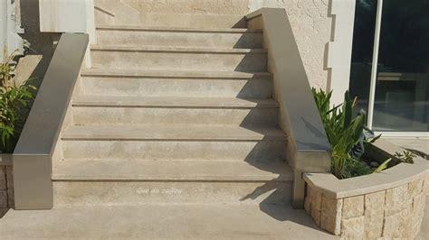 Fabrication Et Pose D'un Escalier D'extérieur En Pierre De