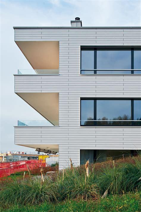 Fassaden Vielfaeltige Gestaltungsmoeglichkeiten by Linearis Fassadensysteme Eternit Architonic