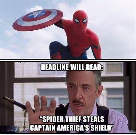 Spiderman Movie Meme - cthutube the best captain america civil war spider man memes captainamericacivilwar