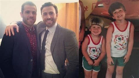 Chris Evans and His Friendly Family: 3 Siblings, Parents ...